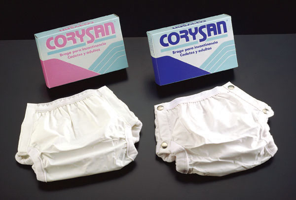 Plastic pants for urinary incontinence